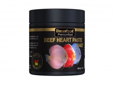 Beef Heart paste Daily 200g NEW FORMEL!